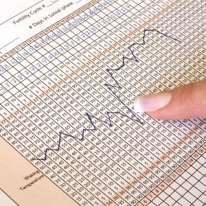 Daglig måling av kroppstemperaturen kan hjelpe deg å se når du har eggløsning.