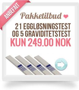 Billige eggløsningstester og graviditetstester